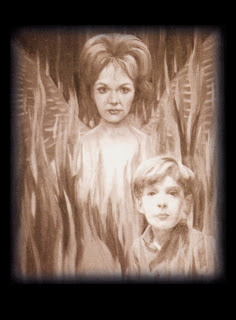 Sam's portrait of Phoenix with David