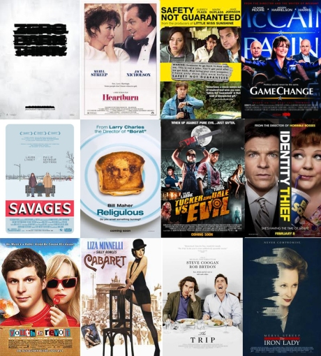 march 2013 my movies