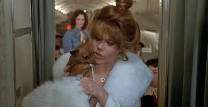 Charo and chihuahua booted off the Concorde