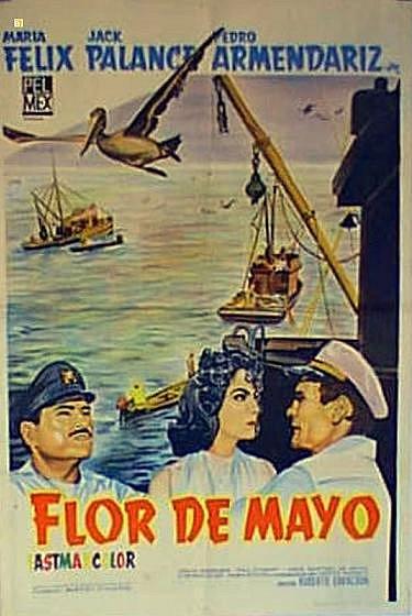Flor de mayo poster
