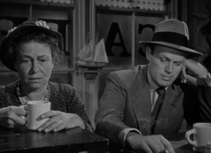 Thelma Ritter and Richard Widmark bring burning life into two shambling lowlifes.