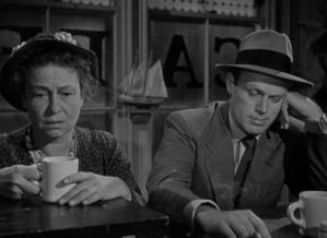Thelma Ritter and Richard Widmark bring burning life into two shambling lowlifes.