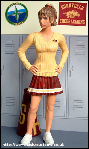 Buffy cheerleader from Witch