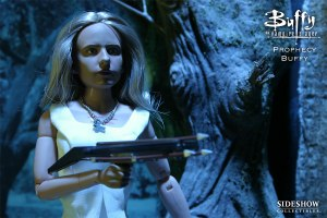 Buffy doll with crossbow