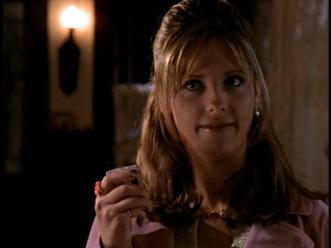 Buffy carries a beeper to The Bronze for alerts from the Sunnydale Funeral Home. I welcome the respite from more advanced mobile devices!