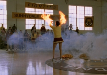 cheerleader combustion