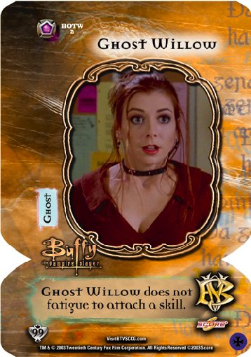 Ghost Willow trading card