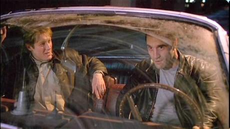 James Spader and Elias Coteas in Crash