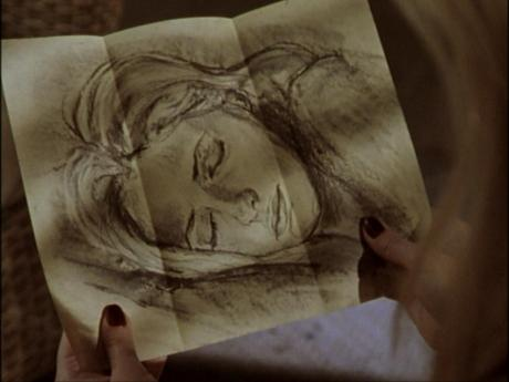 Angelus taunts through his sketches of slumbering targets. He takes torment to the level of performance art in Passion.