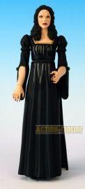 Dru wears black for church.