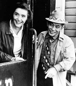 Patricia Neal and Mako