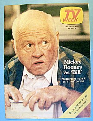 Bill TV Week cover