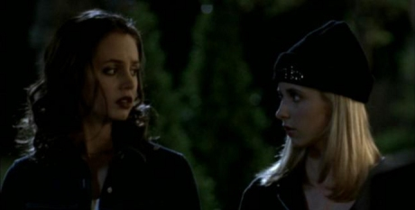 buffy and faith synchronized