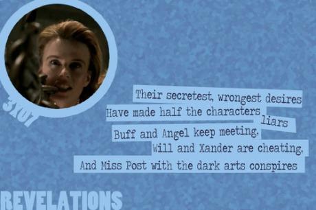 Buffy Revelations Waffle Meringue