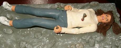Cordy impaled figurine