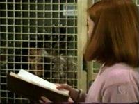 Oz werewolf in cage