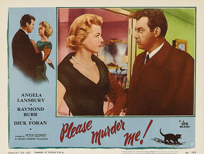Please Murder Me Lobby Card