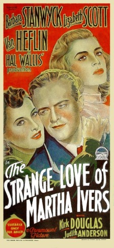 Image result for The Strange Love of Martha Ivers 1946 poster